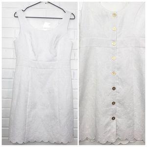 Tommy Hilfiger Sleeveless Sheath Dress White Sz 8